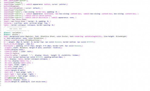 Dreamweaver Color Scheme for Sublime Text Editor supporting SCSS (Sass)
